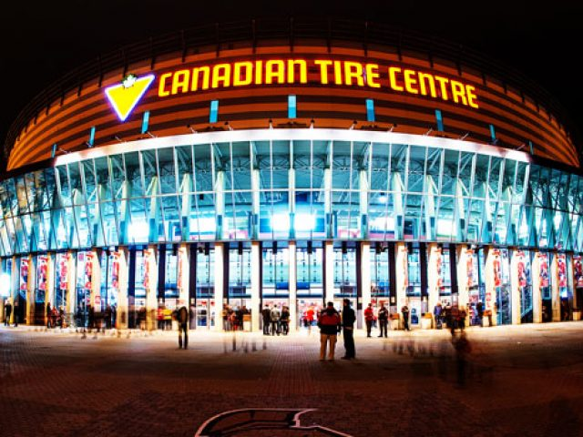 Canadian Tire Centre, OTTAWA SENATORS